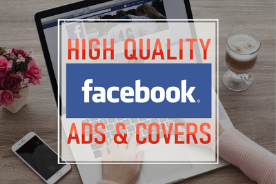 Create Facebook cover, ad or post design