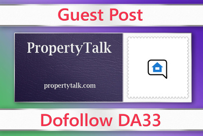 Guest post on PropertyTalk - propertytalk.com - DA33