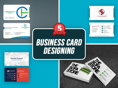 Professional Double Sided Business Card with Bespoke Design