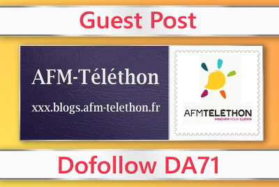 Guest post on AFM-Telethon - blogs.afm-telethon.fr - DA71