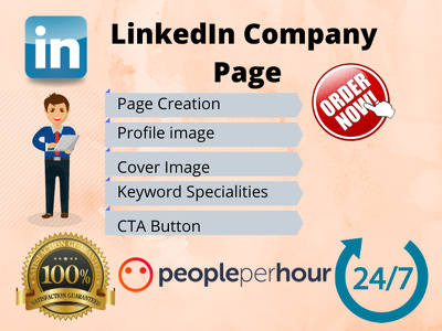 Create and setup your LinkedIn Company Page within 2 days