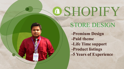 Design your shopify store