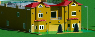 Design a 3D model and rendering