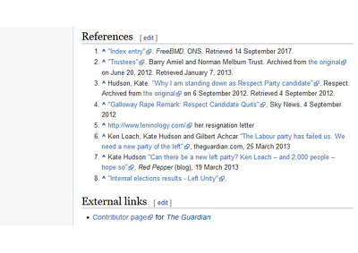 Add your website as a wikipedia article reference (Backlinks)
