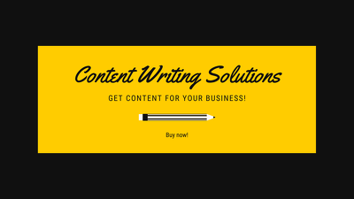 Write articles/ blogs for your business