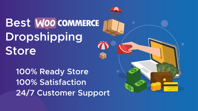Build dropshipping store or woocommerce store