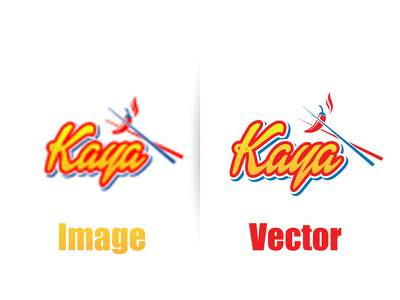 Vectorise, convert jpg logo in to vector professionally