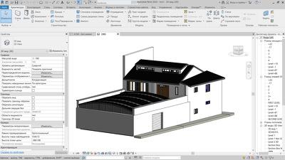 Create 3d model Archicad or Revit from poin cloud model XYZ