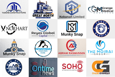 Do Design your logo professionally + Unlimited Revision
