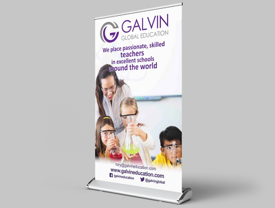 Design  roll up banner/ within 24 hour