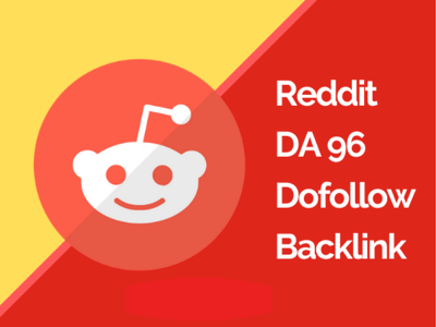 Create a DA 97 Dofollow Backlink from Reddit