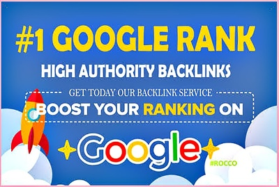 Build high quality whitehat SEO backlinks manual link building