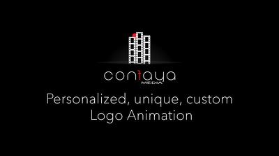 Create a personalized, unique, custom logo animation