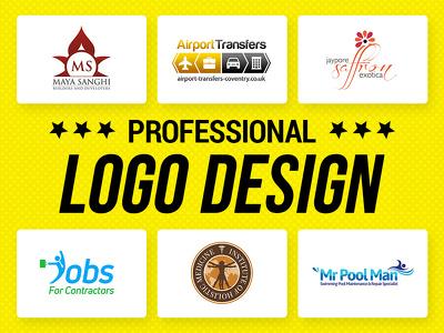 Design Premium Logo + Favicon + Source Files + Font
