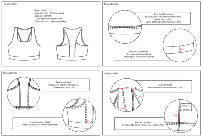 Complete your CAD fashion technical drawings/ 'fashion flats'