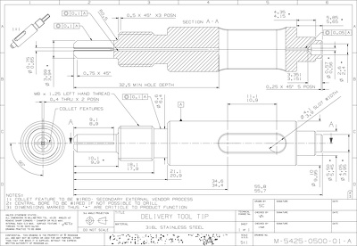 Create a technical 2D drawing of your design