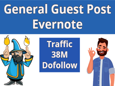 Do HQ Baclink General Guest Post on evernote DA98