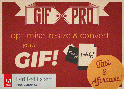 Optimise, resize & convert your GIFs !