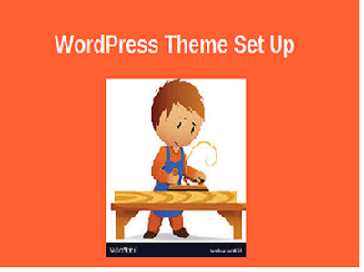 set up Wordpress Theme
