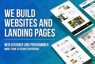 Design stunning landing page for you business