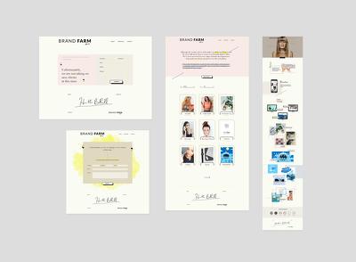 Design Creative Unique UI / UX / GUI for Website