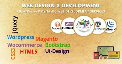 Develop Responsive, Optimized & SEO friendly WordPress website