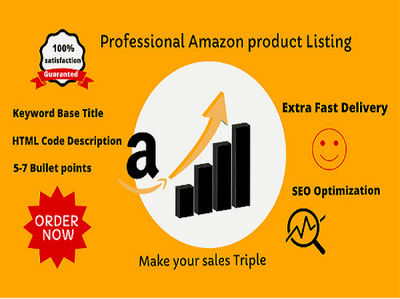 Create amazon product listings with optimised description