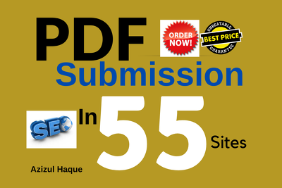 Do A Manual PDF Submission To 55 Document Sharing Sites