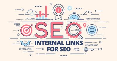 Create internal links in your wordpress website for 5 Blog Posts