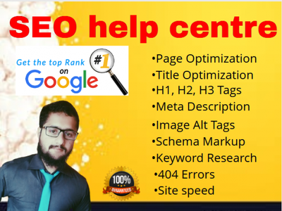 Do on page seo of wp website with yoast or rank math