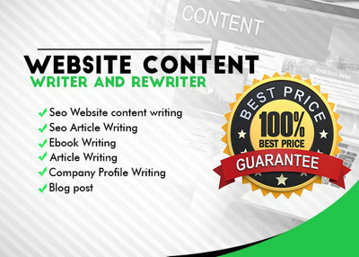 Your article and content writer (500 words)