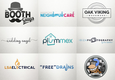 Design an Exclusive LOGO + Unlimited Revisions + FREE Favicon