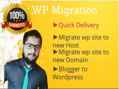 Migrate your wordpress website in 12 hours