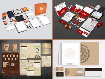 Professional & Creative Bespoke Stationery Set For Your Business