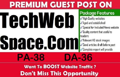 write and Publish Premium Guest Post on techwebspace.com