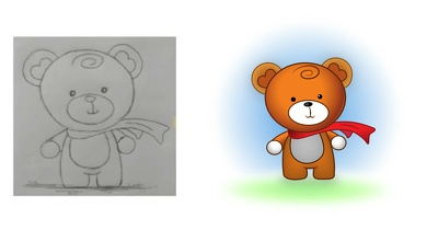 Vectorize / redraw your graphic / logo / icon