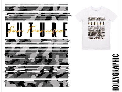Design creative graphics and prints for clothing
