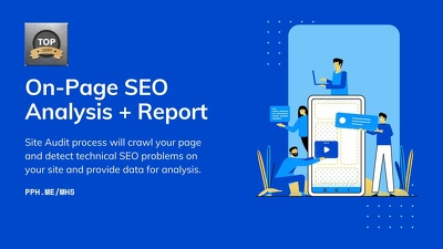 On-Page SEO Audit & Report for your website