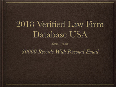 Want to Sell a database of 30,000 Law Firm (With Personal Email)