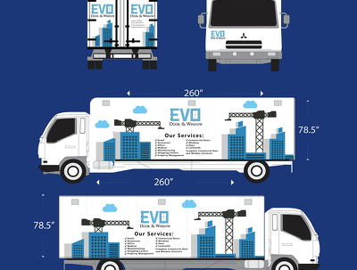 Create a car, van, truck, and trailer wrap for your busin