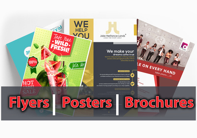 Design your  poster, leaflet or flyer