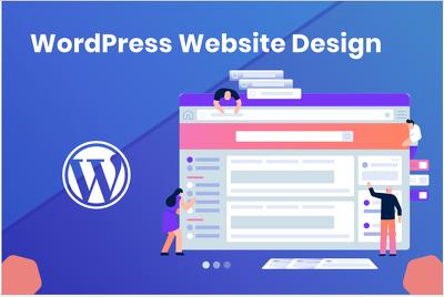 develop a wordpress website (5 Pages)