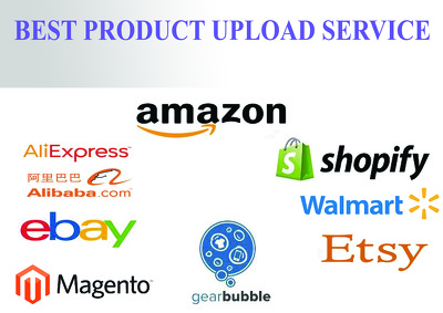 Do 100 product listing on any online store or on your website
