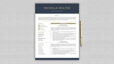 Professionally Rewrite & Design your ATS CV/Resume in 24 hours