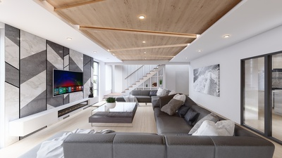 3D Visualisation for Interior Design and Exterior Facades