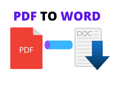 Convert pdf to word within 1 day