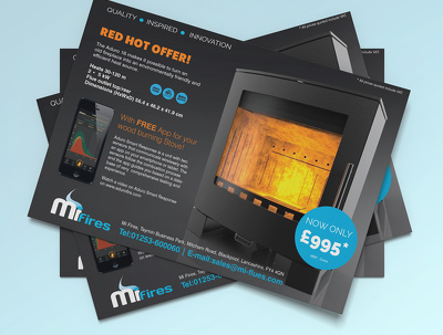 design a one-sided flyer, leaflet or poster