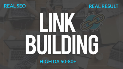 Create 50 pr9 high authority backlinks for your website
