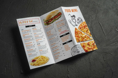 Can design marketing flyer and brochure