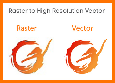 Convert your existing logo / image as HD VECTOR within 24 hours